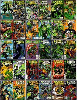 GREEN LANTERN #96-125 almost all signed by Ron Marz