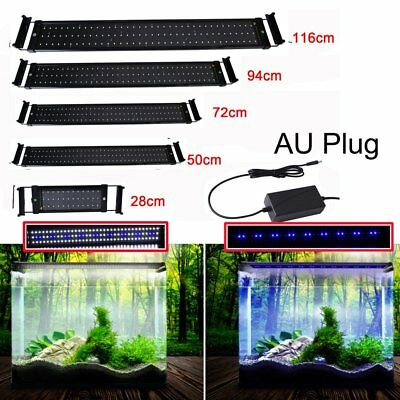 LED Aquarium Light - Full Spectrum Lighting Aqua Plant Fish Tank Marine Lamp