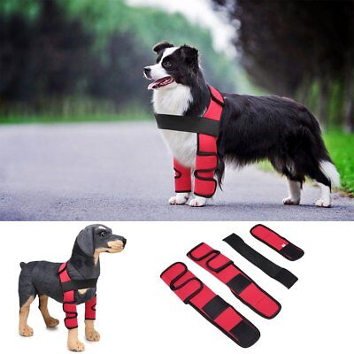 Pet Dog Front Leg Compression Brace Hock Joint Wraps Knee Joint Support for Dogs