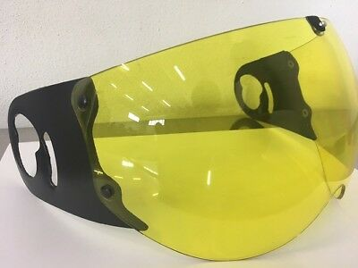 E Visiera Casco  ROOF BOXER RO5 ANTI SCRATCH YELLOW