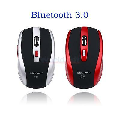 Ergonomic Wireless Bluetooth3.0 Optical Mouse 1600DPI Mice for PC Tablet Android