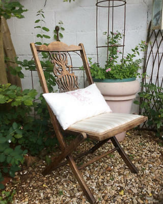~*Ornate Antique Folding Chair~Perfect for Home or Garden*~