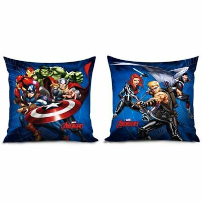 Official Marvel Avengers Cushion Filled Falcon Iron Man Hulk Reversible