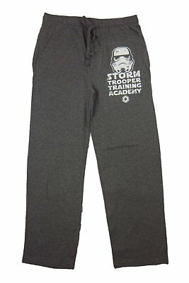 Mens Womens NEW Star Wars Storm Trooper Academy Pajama Lounge Sleep Pants Size M