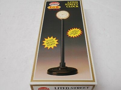 Model Power LGB #989 Lited Street Clock (NIB) G Scale