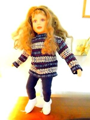 """My Twinn Doll 22"""" Tall With Lots Of Extra Clothes- Great Condition"""