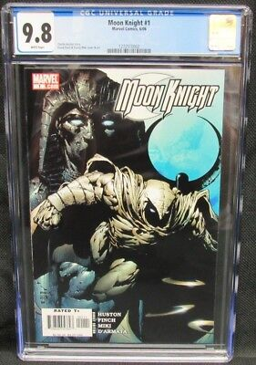 Moon Knight #1 (2006) CGC 9.8 White Pages CM847