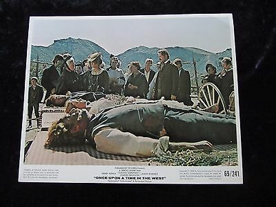 ONCE UPON A TIME IN THE WEST lobby card # 2 - SERGIO LEONE, HENRY FONDA