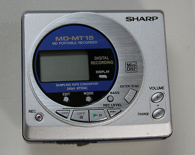 Sharp MD-MT15 Minidisc Player, Top IO Zahnrad vom Laserschlitten neu !!
