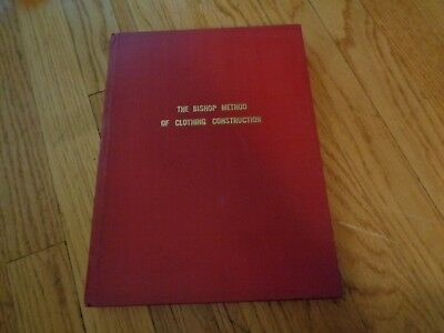 The Bishop Method of Clothing Construction Edna Bryte Bishop Vintage Sewing Book