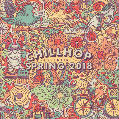 V.A. - Chillhop Essentials Spring 2018 (Vinyl 2LP - EU - Original)