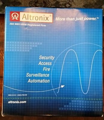 New Altronix AL600ULX Power Supply/Charger 12 or 24 VDC 6 Amp