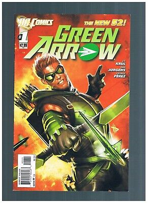 DC Green Arrow  #1 NEW 52 OLIVER QUEEN DCEU MODERN AGE