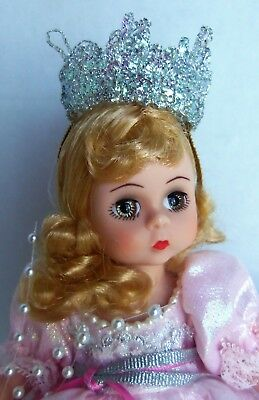 Madame Alexander GLINDA the Good Witch, Wizard of Oz Doll with Stand, no box