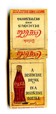 Early Coca-Cola Matchbook