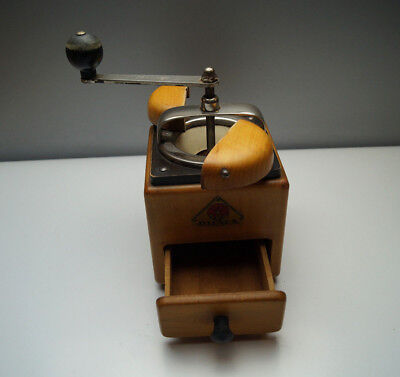 rar Dienes Kaffeemühle 164 ? 1935/40 moulin a cafe coffee grinder Holzdeckel