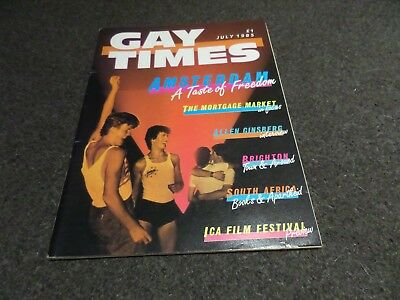 Gay Times - July 1985