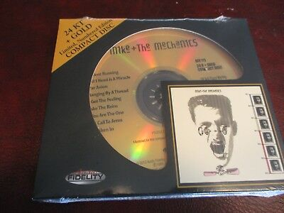 Mike & The Mechanics Audio Fidelity 24 Karat Gold Audiophile Out Of Print Cd