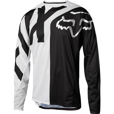 Fox Racing 2018 Youth Demo Long Sleeve L/S Jersey White/Black