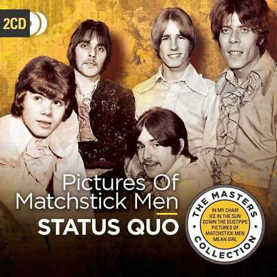STATUS QUO PICTURES OF MATCHSTICK MEN 2 CD (Released 27th July 2018)