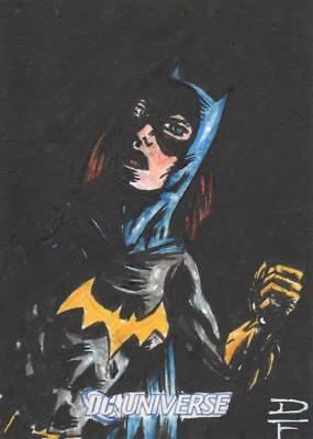 DC Universe / Legacy Color Sketch Card by Dave Fox - Batgirl