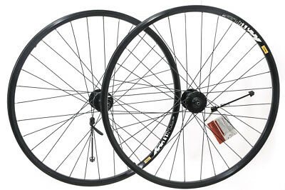 "Shimano Deore M475 / Mavic XM119 27.5"" 650B MTB Bike Wheelset Disc QR NEW"