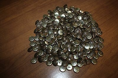 WW2 NFS NATIONAL FIRE SERVICE Buttons Lot of 100 NEW WITHOUT BOX VINTAGE