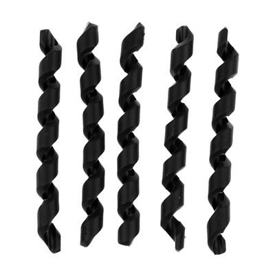 5Pcs Bike Shift Brake Rubber Bicycle Cable Protector Line Pipe Sleeve Black