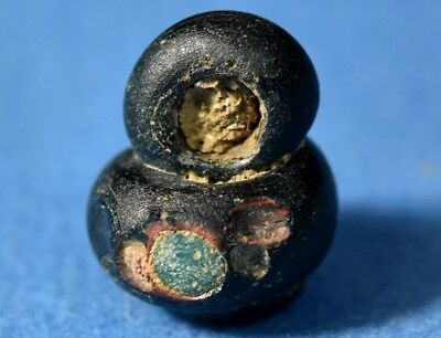 Judea Byzantine / Medieval Glass Bead or Small Weight.