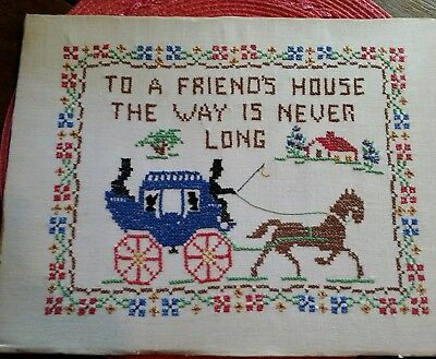 Sympathise with Vintage cross stitch samplers understand