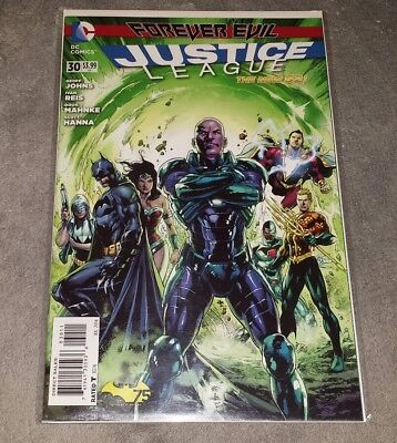 DC comics 2014 JUSTICE LEAGUE FOREVER EVIL #30 FREE SHIP bagged boarded New 52