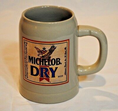 Michelob Dry Beer Stein West Germany
