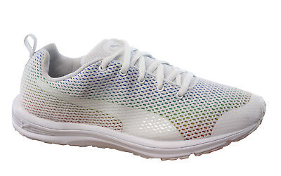 952ac6f81ad Puma Evader XT v2 Prism Lace Up White Multi Womens Trainers Shoes 188979 01  D24