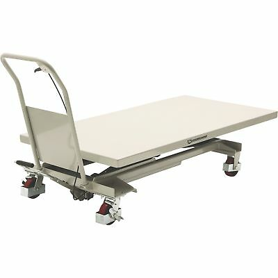 Strongway 2-Speed Hydraulic Table Cart with Rapid Lift- 1200-Lb. Capacity