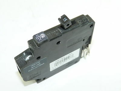 Crouse Hinds 15 Amp 1 Pole MH115R MH/MM Circuit Breaker