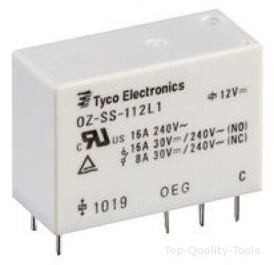 10A OMI-SH-112LM,000 TE CONNECTIVITY Relay SPST-NO 30VDC OEG 250VAC