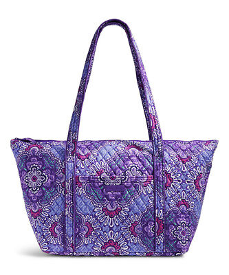 ad0b994125dbc NEW Vera Bradley Miller Tote Bag Lilac Tapestry Travel Weekender Large  Carry-on