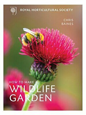 RHS Companion to Wildlife Gardening by Baines, Chris Book The Cheap Fast Free