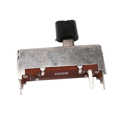 A500K OHM Audio Pots 36mm Shaft Potentiometer Replacement for Guitar Bass