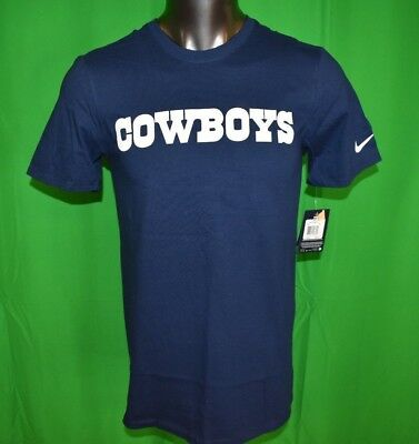 NIKE NFL MENS Dallas Cowboys Football Athletic Cut Shirt NWT S 45ba013da