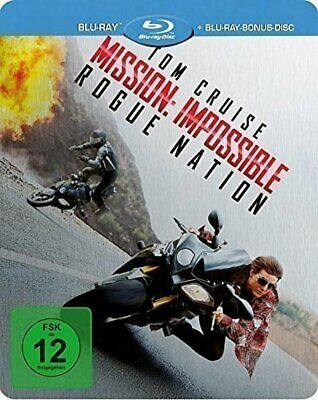 Mission: Impossible 5 - Rogue Nation - Limited Steelbook # 2-BLU-RAY-NEU