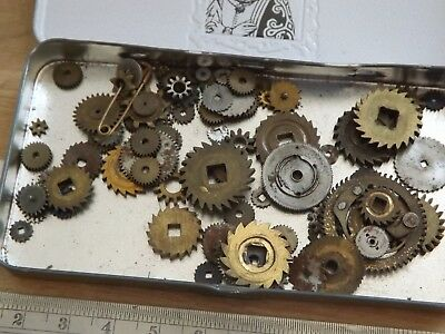 Various Clock Parts For The Clockmaker