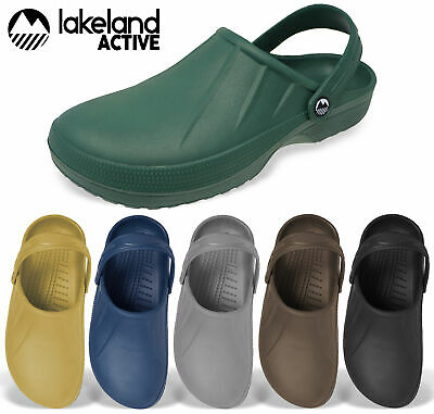 Lakeland Active Garden Clogs Slip On Gardening Mules Shoes Outdoor Mens Womens
