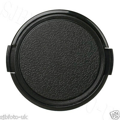58Mm Traditional Side-Pinch Clip-On Front Lens Cap For Panasonic Sony Samsung
