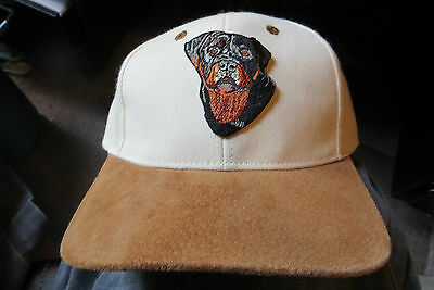 Custom made Rottweiler Dog,pet,protection,friend,animal,add name cap&patch new
