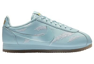 Nike Classic Cortez Goddess Of Victory Womens AR5393-400 Ocean Shoes Size 8.5