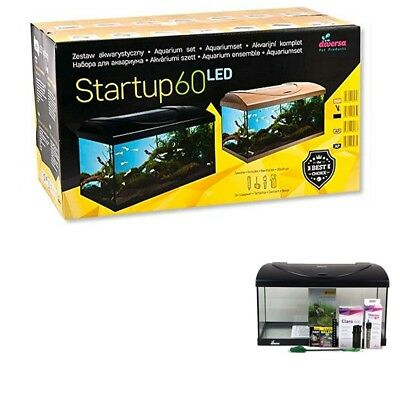 Diversa Aquarium StartUp Set LED Serie komplett Aquariumset Einsteiger Set