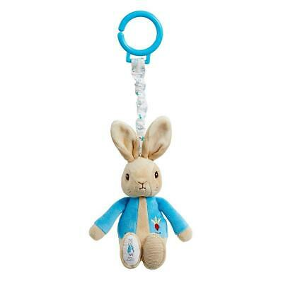 Beatrix Potter 'Peter Rabbit' Jiggle Attachable Toy - Clips To Pram Or Cot