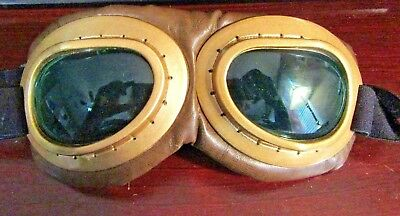 Deluxe Aviator Costume Goggles Pilot Goggle Old Fashion for all Ages