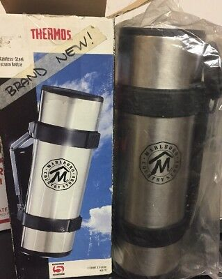 BRAND NEW!! Stainless Steel Vacuum Bottle Thermos Marlboro Country Store 1 Liter